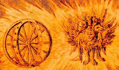 Ezekiel's vision of wheels